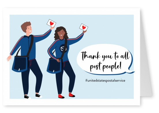 Thank you to all post people!