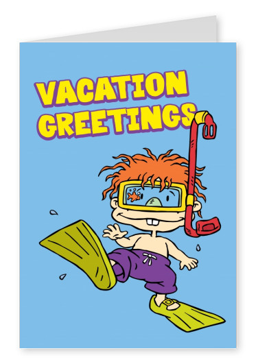 RUGRATS vacation greetings