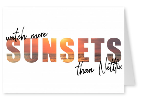 netflix quote sunsets