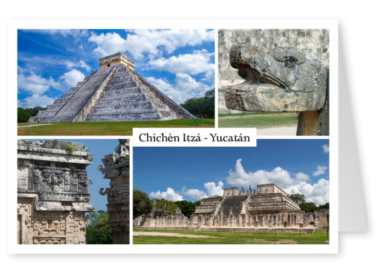 Chichén Itzá Fotocollage