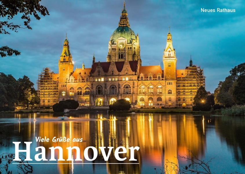 Foto Hannover neues Rathaus