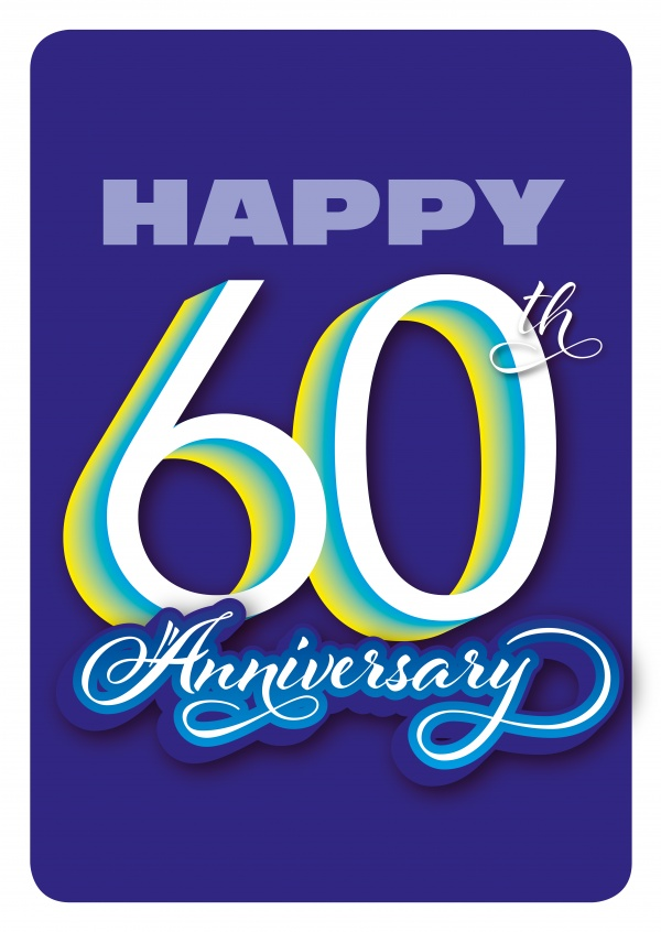 Happy 60th Anniversary