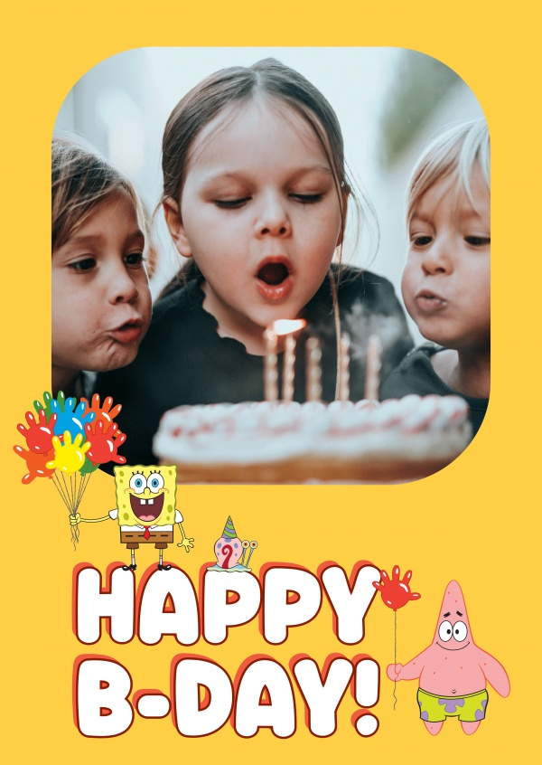 Spongebob - Happy B-day!