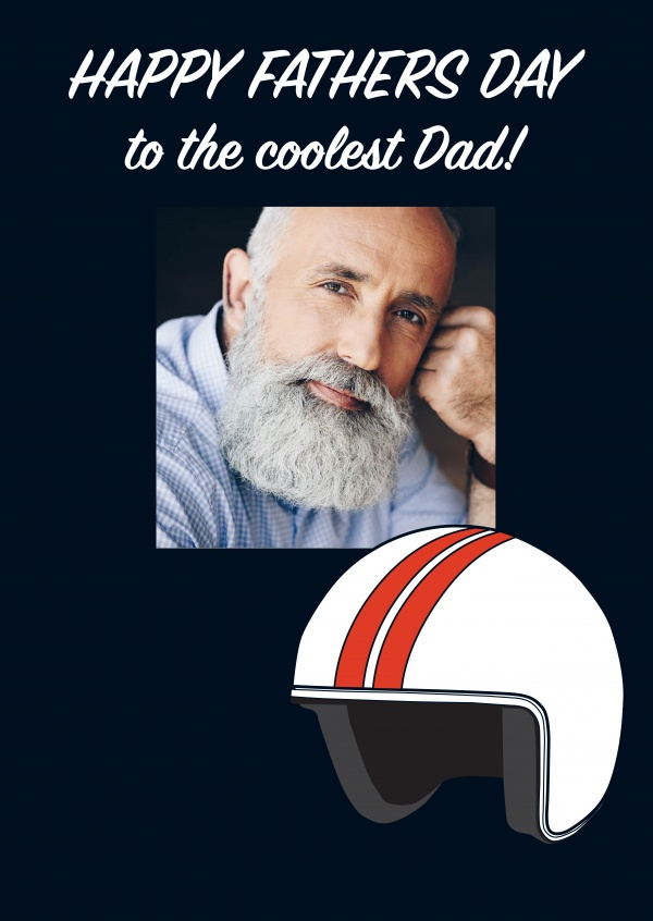 Happy Fathers Day - Coolest Dad Template