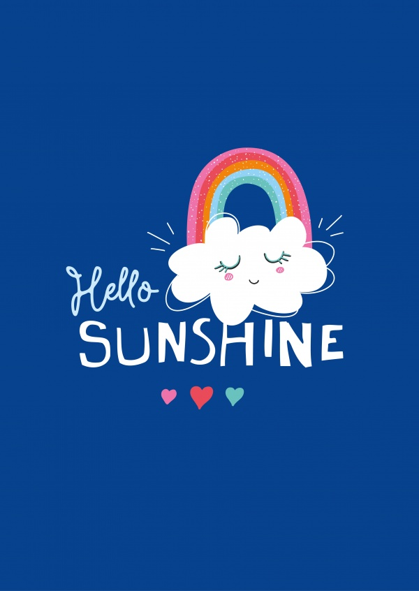 Happy Life Hello Sunshine