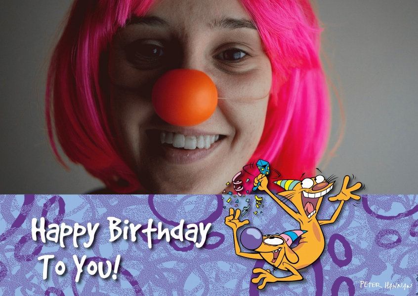 CatDog Happy Birtday to you!