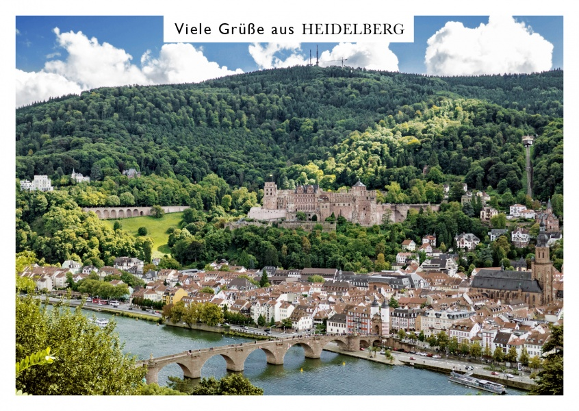 Heidelberg old bridge photo