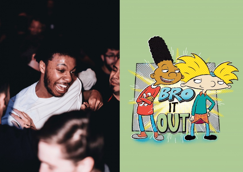 Hey Arnold! - BRO IT OUT