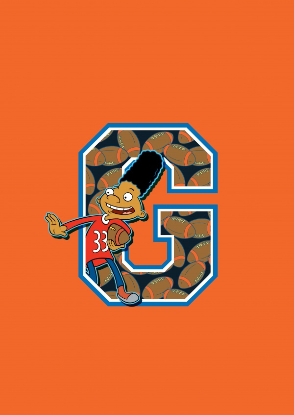 Hey Arnold! - G is for Gerald