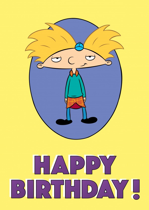 Hey Arnold! - HAPPY BIRTHDAY