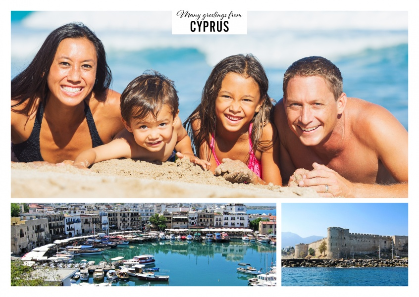 Cyprus harbour city Kyrenia