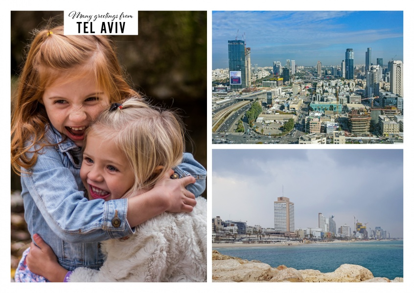 Different facets of Tel Aviv: Inner city view and beach section