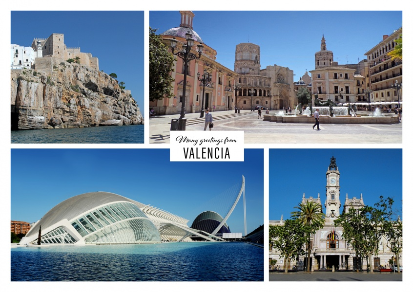 Valencia in four photos - 	architectural attractions