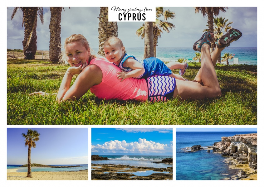 Cyprus' beautiful bay and beach landscapes in three photos
