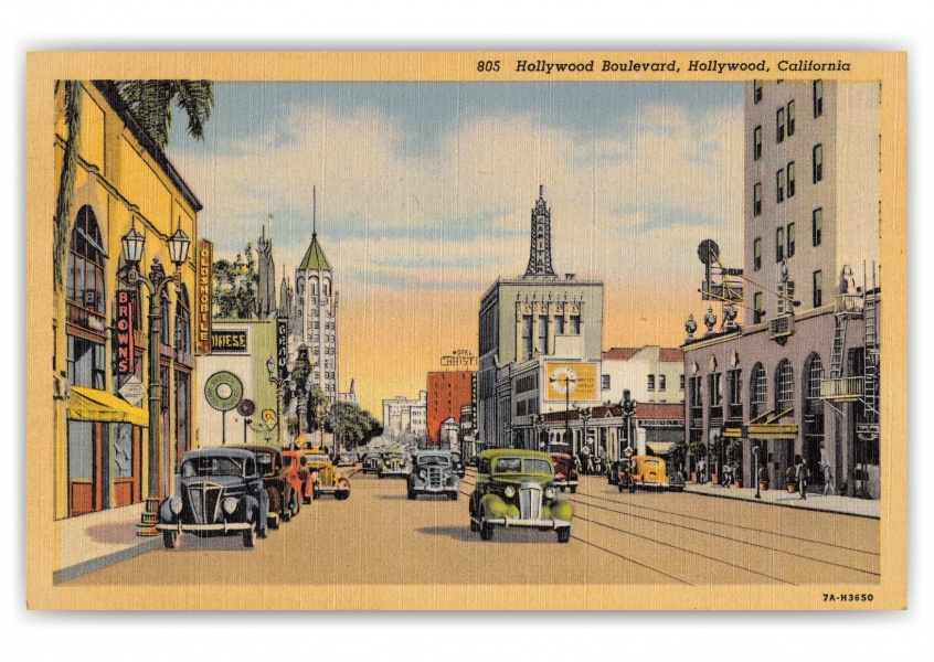 Hollywood Boulevard, Hollywood Boulevard street scene