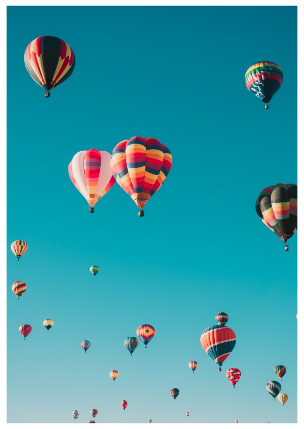 photo hot-air balloons