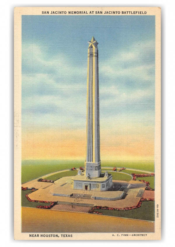 Houston Texas San Jacinto Memorial at San Jacinto Battlefield