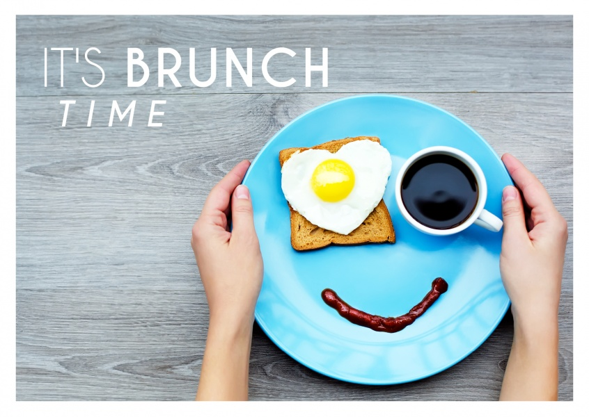 Invitation card for Brunch