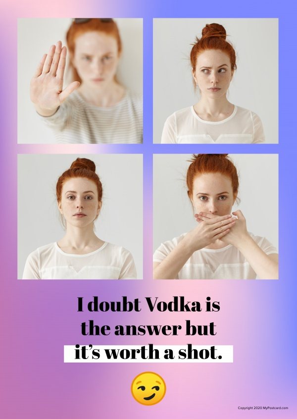 I doubt Vodka is the answer but it's worth a shot