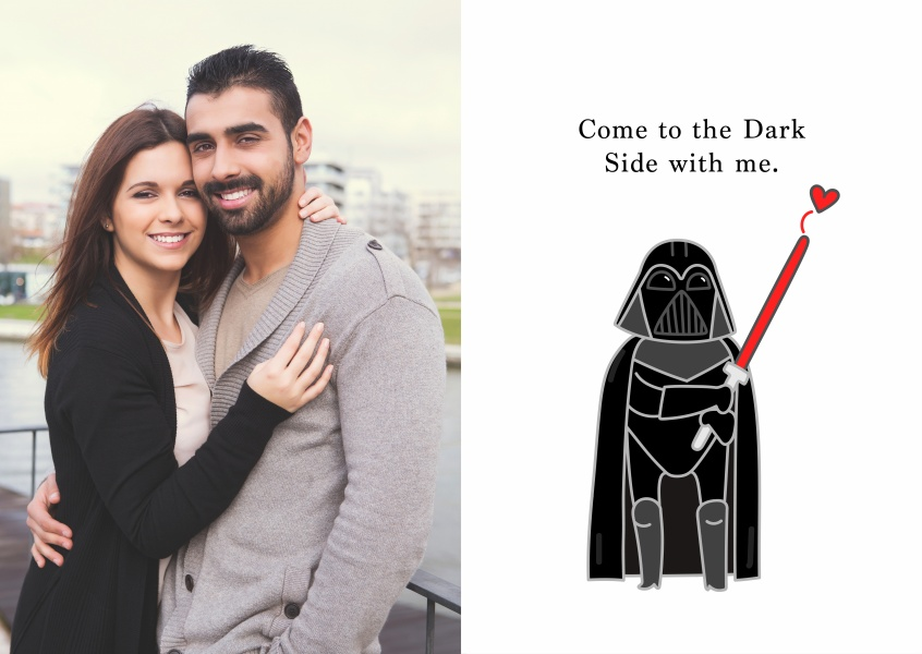 Come to the Dark Side with me.