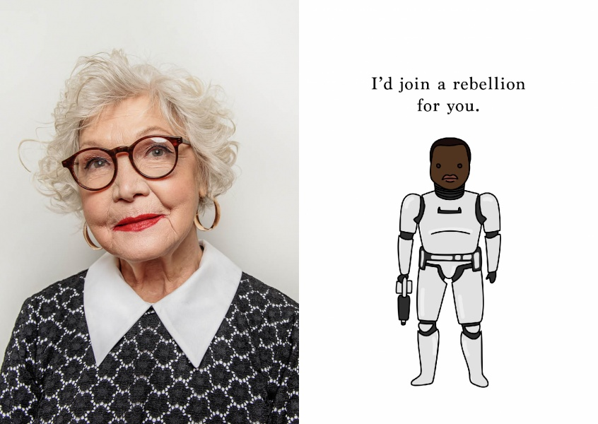 I'd join a rebellion for you.