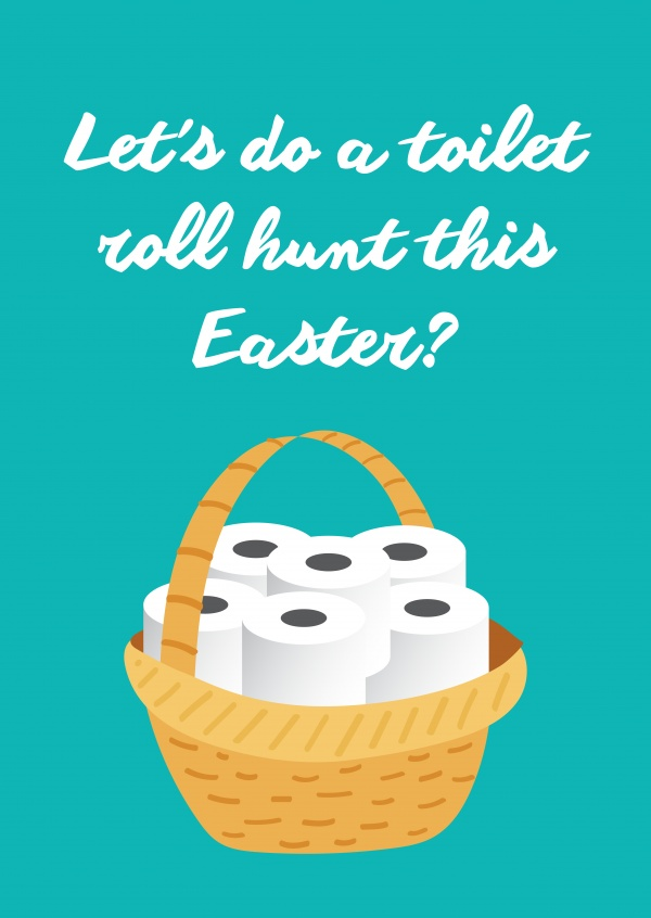 Let's do a toilet roll hunt this Easter?