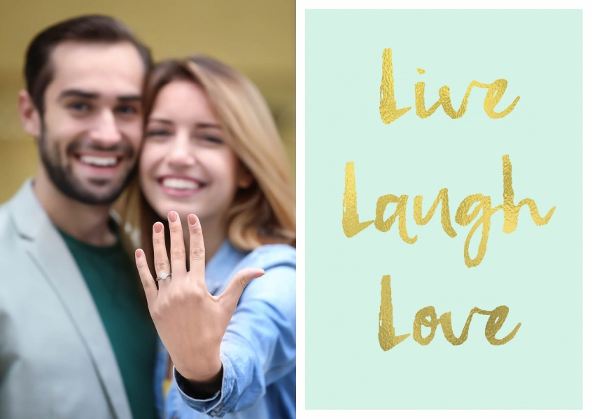 Live Laugh Love Wisdom Sayings Quotes Cards Send Real Postcards Online