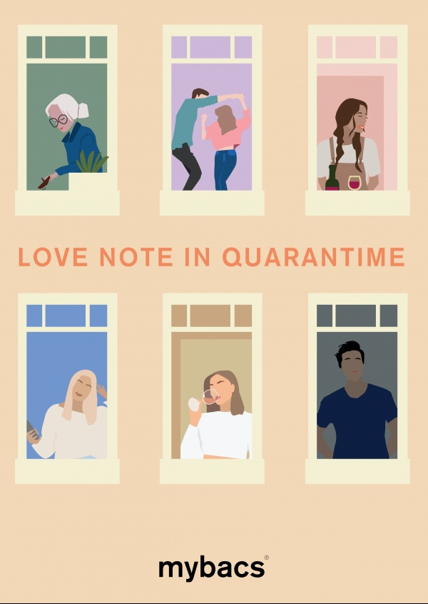 Love note in quarantime - Neighbours
