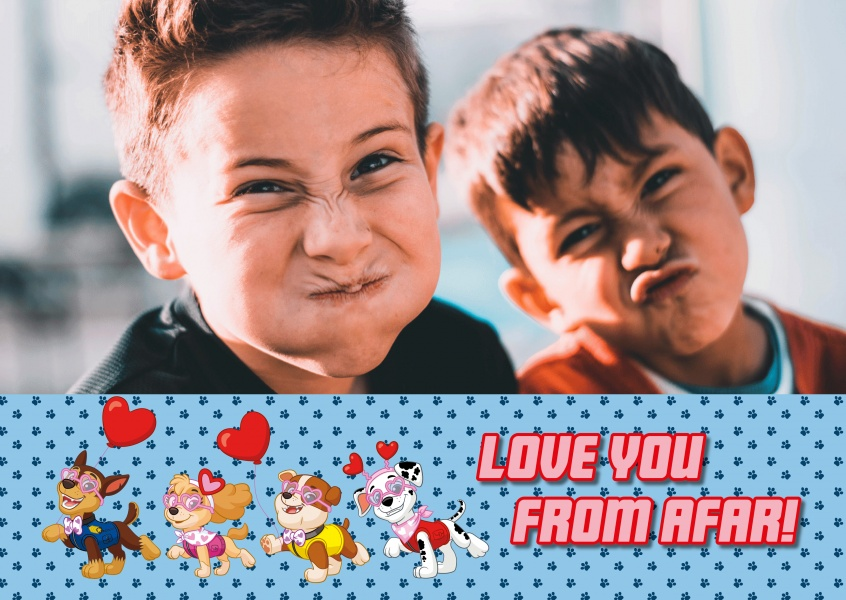 PAW Patrol Love you from afar