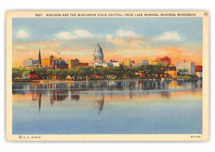 Madison, Wisconsin, Madison and Wisconsin State Capitol