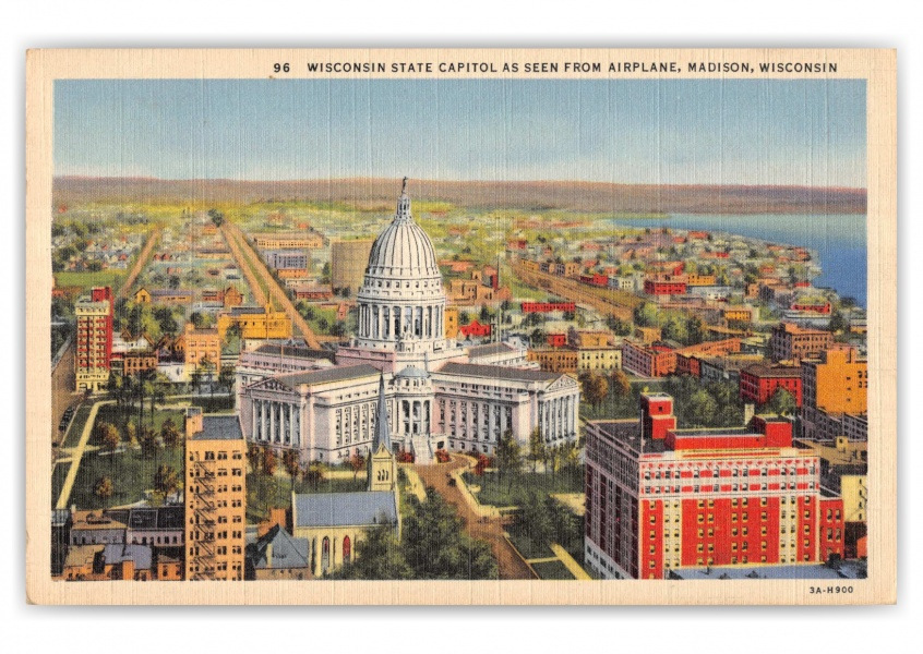 Madison, Wisconsin, State Capitol