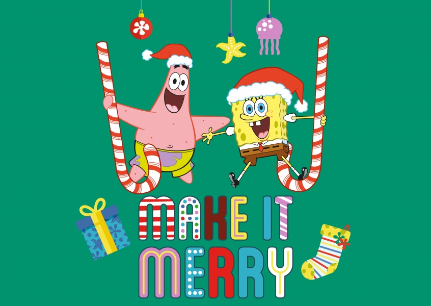 Spongebob - Make it Merry!