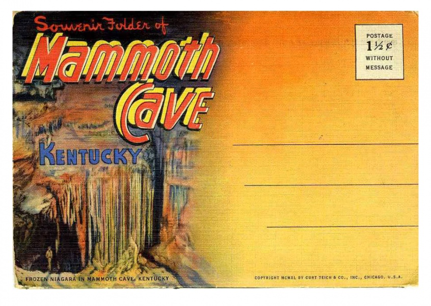 Curt Teich Postcard Archives Collection Mammoth Cave, Kentucky