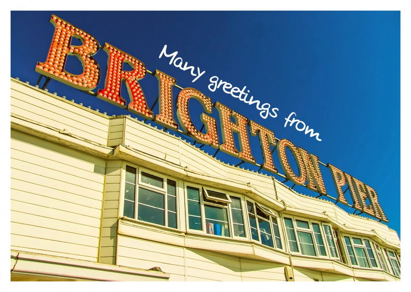 Photo of Brighton Pier Sign