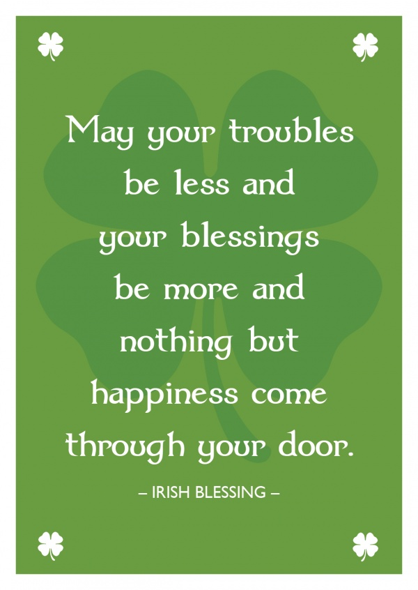 image about Printable Irish Blessing named Totally free Printable Congratulation Playing cards Totally free Templates Playing cards Released and Mailed For Yourself Global, Shipping and delivery, Postage, Shipping