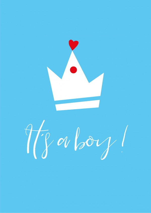 Meridian Design it's a boy