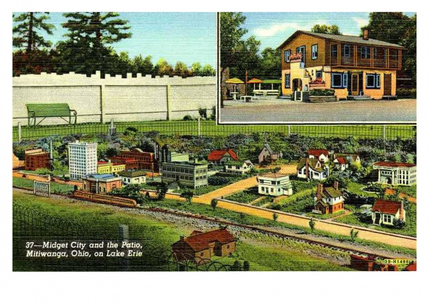 Curt Teich Postcard Archives Collection Midget city, Mitiwanga, Ohio