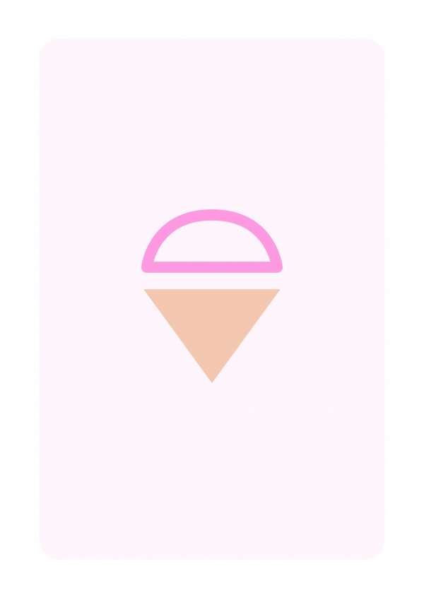 Minimalistic Ice Cream