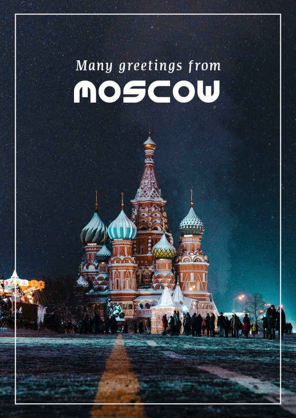 photo Saint Basil's Cathedral Moscow