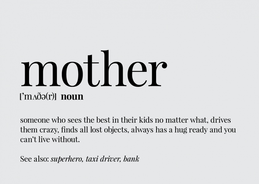 Definition of a mother