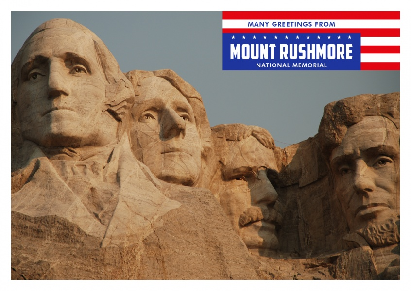 Photo Mt. Rushmore, Blackhills