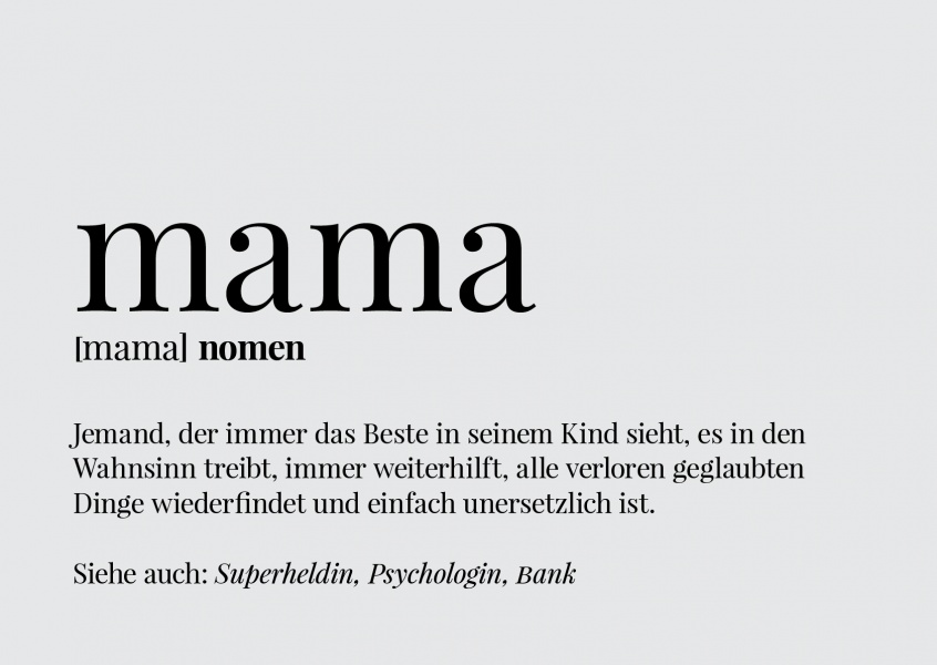 Definition einer Mutter