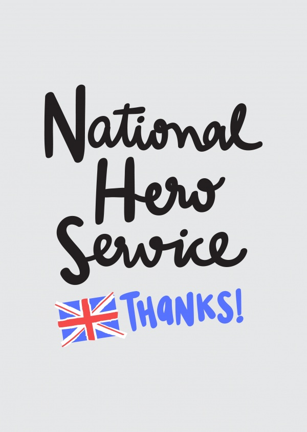Thanks to the National Hero Service