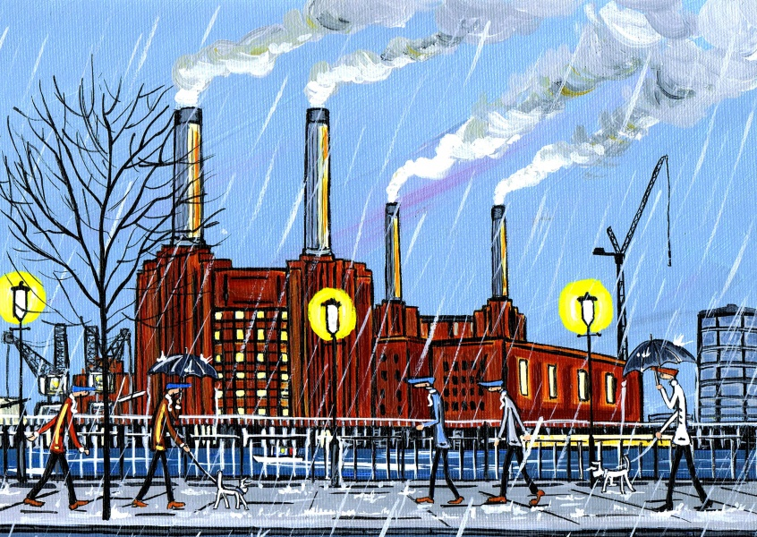 Illustration South London Artist Dan new Battersea brighter