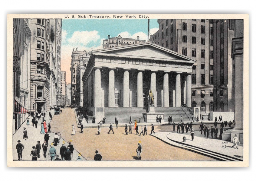 New York City US Sub Treasury