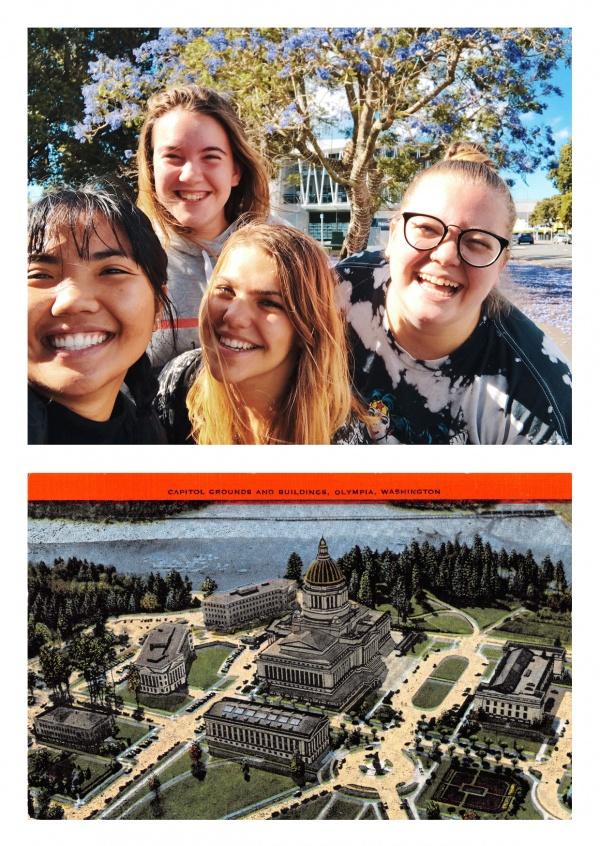 Olympia, Washington, Capitol grounds and buildings