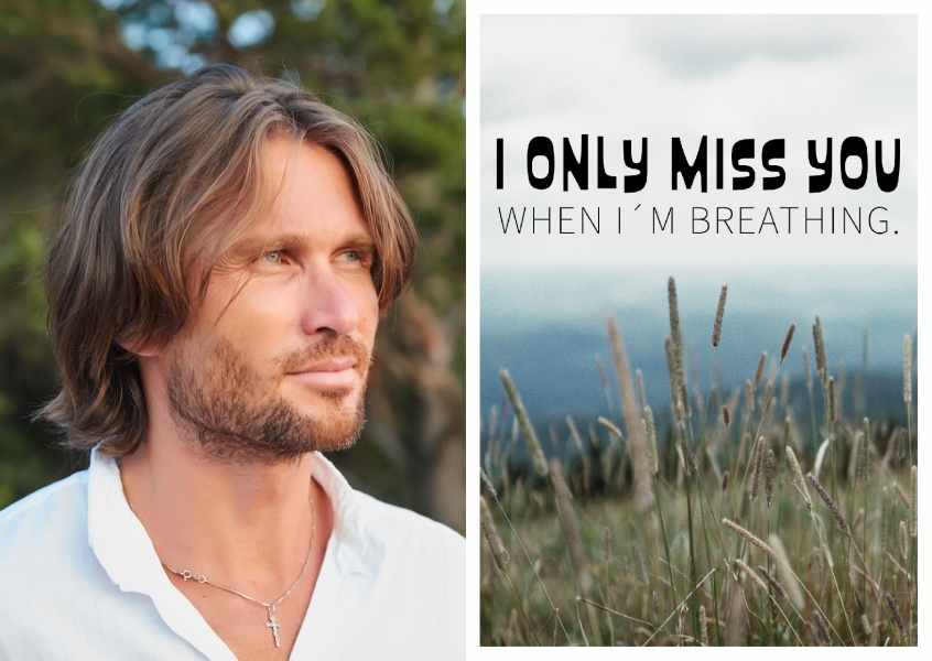 I only miss you when I'm breathing quote