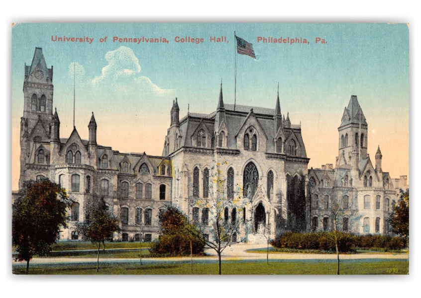 Philadelphia, Pennsylvania, University of Pennsylvania, College Hall
