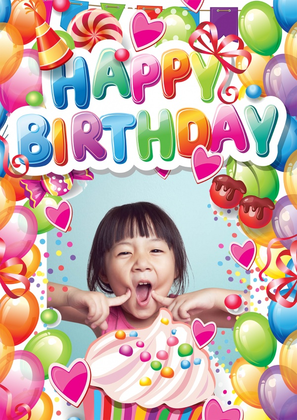 Peachy Free Printable Photo Happy Birthday Cards Online Customized Funny Birthday Cards Online Fluifree Goldxyz