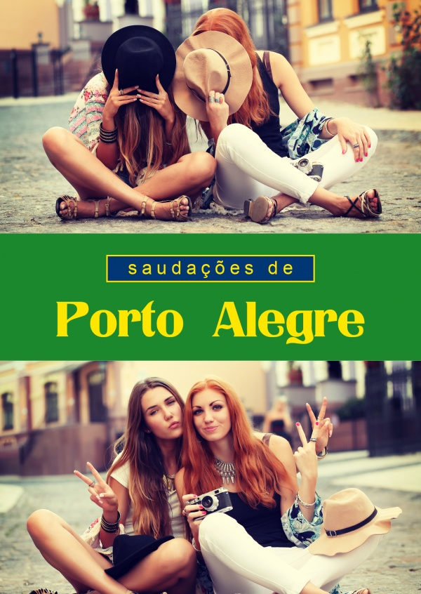 Porto Alegre in Portuguese language